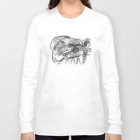 badger Long Sleeve T-shirts featuring Badger by MartaDeWinter