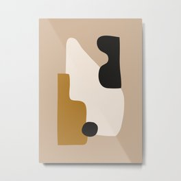 abstract minimal 16 Metal Print