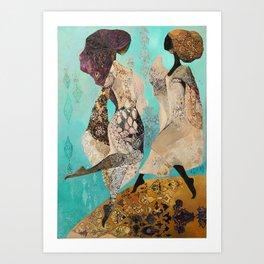 Heavenly Virgins Art Print