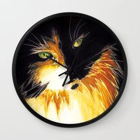 shadow Wall Clocks featuring Shadow by DTice