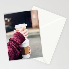 Lattes Stationery Cards