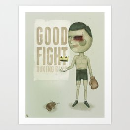 GO THE DISTANCE Art Print