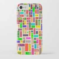 doors iPhone & iPod Cases featuring Doors - White by Finlay McNevin