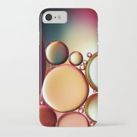 oil iPhone & iPod Cases featuring Oil On Water Colourful by ALLY COXON