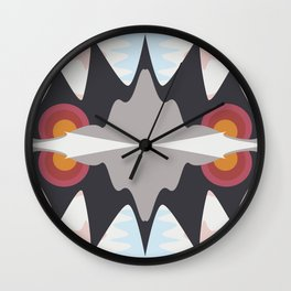Sun Setting Wall Clock