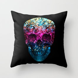 Blendeds IV Skull Throw Pillow