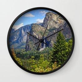 Bridaveil Falls Wall Clock