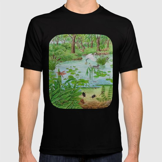 A Day of Forest (4). (the lake ecosystem) T-shirt