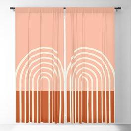 Terracota Pastel Blackout Curtain