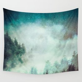 Galaxy Forest Wall Tapestry
