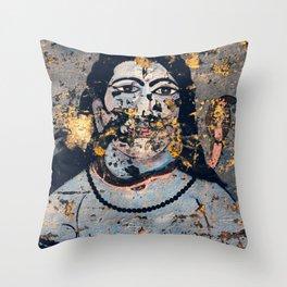 Hindu mural Throw Pillow