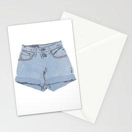 She Wears Short Shorts Stationery Cards