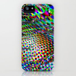 Once upon a halftone iPhone Case