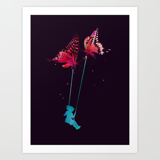 Joy Ride Art Print