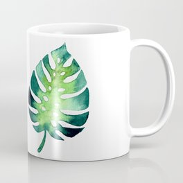 Monstera Leaf Coffee Mug