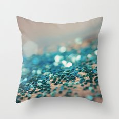 Sprinkled with Sparkle Throw Pillow