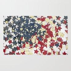 EUA FLAG STARS Rug