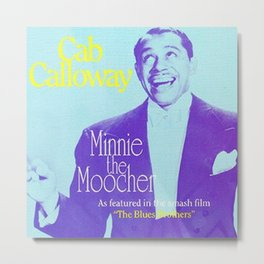 Minnie the Moocher Metal Print