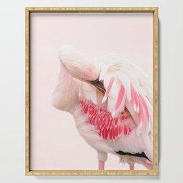 Flamingo pink Serving Tray