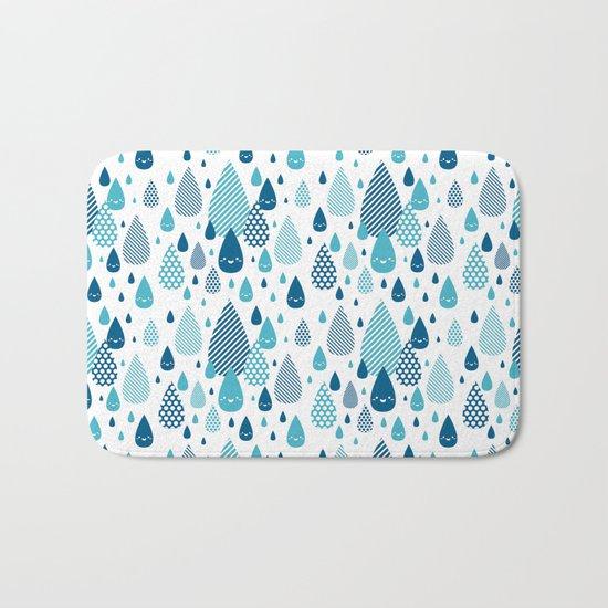 raindrop Bath Mat