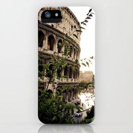 the collosseum iPhone Case