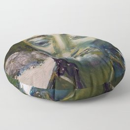 Smokin' Floor Pillow