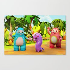 Woopee World Canvas Print