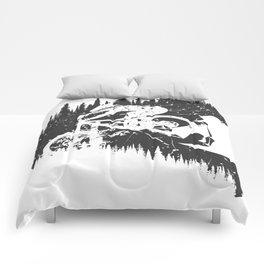 Black Fullface Comforters