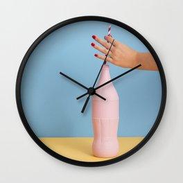 Huge refreshment Wall Clock