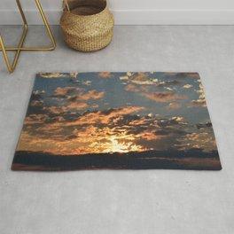 Firey Sunset Rug