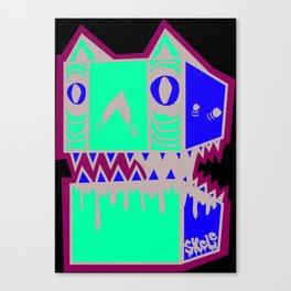 BAD KITTY Canvas Print
