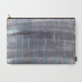Grey Rain Carry-All Pouch