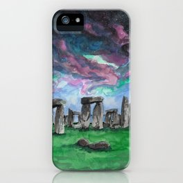The Druids Turn To Stone iPhone Case