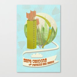Sera Cahoone Poster Canvas Print