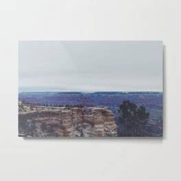 Mather Point in Winter Metal Print