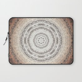 Vintage Ancient Words Mandala Laptop Sleeve