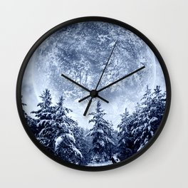 Inspirational Night Wall Clock