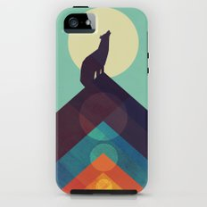 Howling Wild Wolf Tough Case iPhone SE