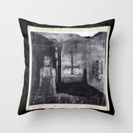 Unsolved Case 46B-18R copy Throw Pillow