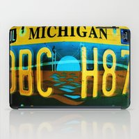 michigan iPad Cases featuring Michigan by Vivian Fortunato