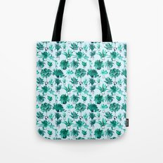 Houseplants All Over The Place Tote Bag