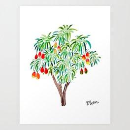 Mango Tree Art Print