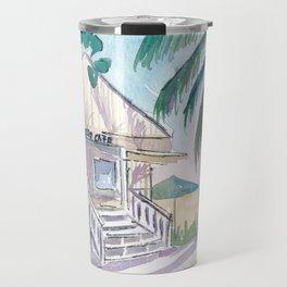 Key West Conch Dream House - Cayo Hueso Beach Cafe Travel Mug