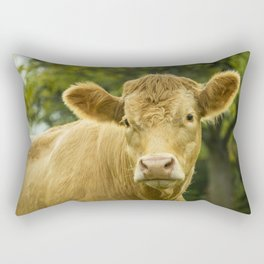 Hey Cow Rectangular Pillow