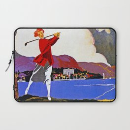 Cadenabbia Lake Como Golf And Tennis Laptop Sleeve