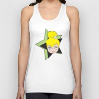 tinker bell Tank Tops featuring I Am Smart - Tinker Bell by AmadeuxArt