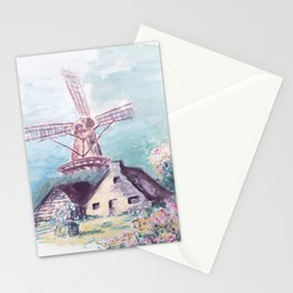 Le moulin Stationery Cards