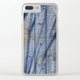 Shadowed Panels Clear iPhone Case