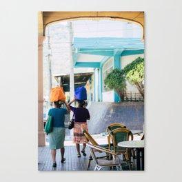 women in berlin Canvas Print