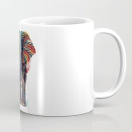 Ornate Elephant (Watercolor) Coffee Mug